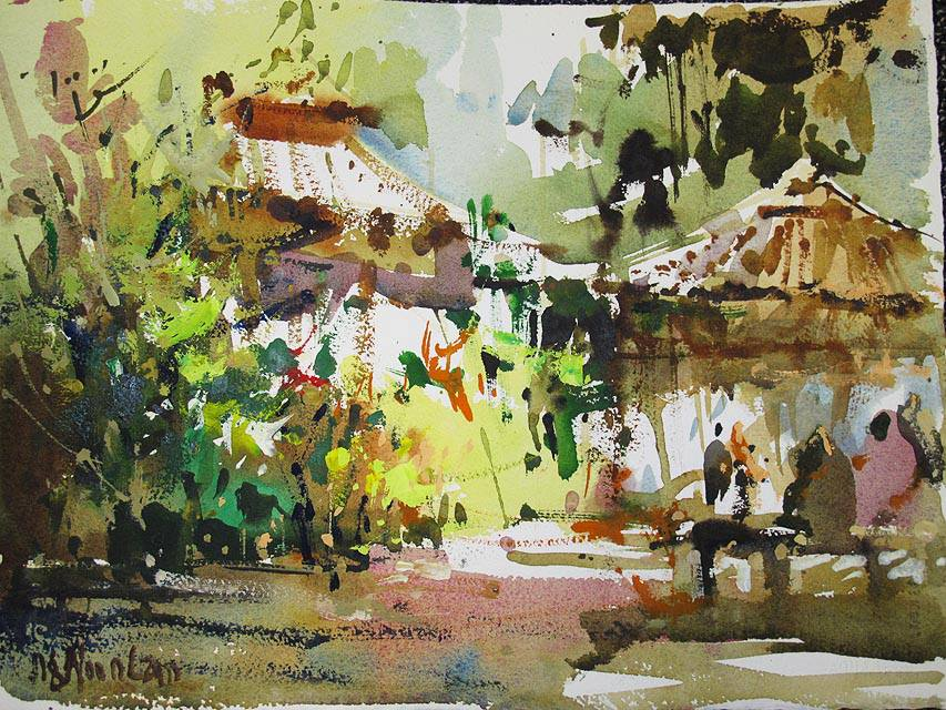 Woon Lam Ng, Watercolor, scetch