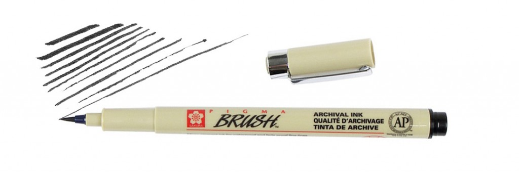Pigma Brush - Black