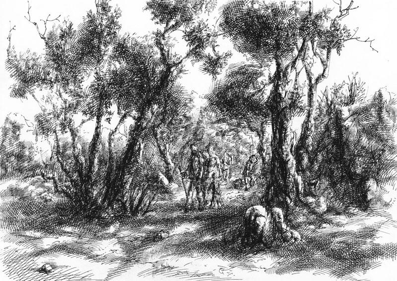 Переселение, А4, гелевая ручка, 2008