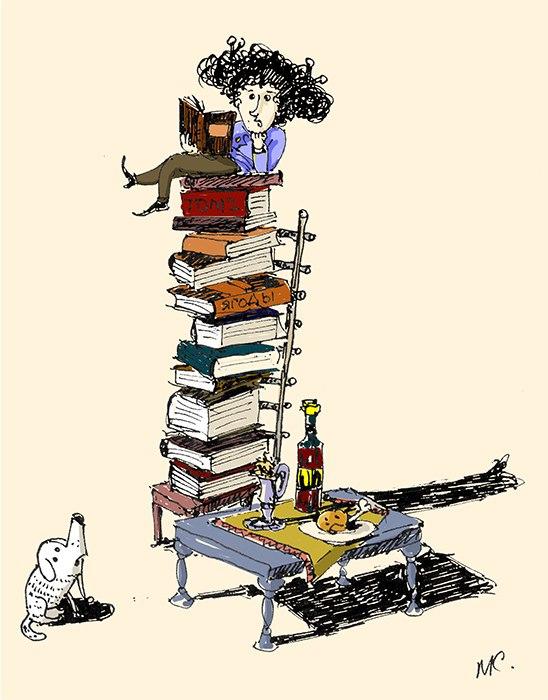 графика, иллюстрация, книги
