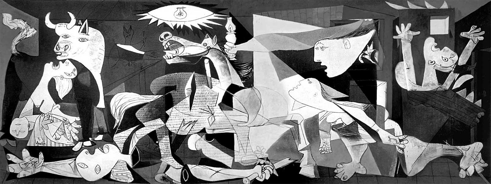 Guernica, Герника, Пикассо