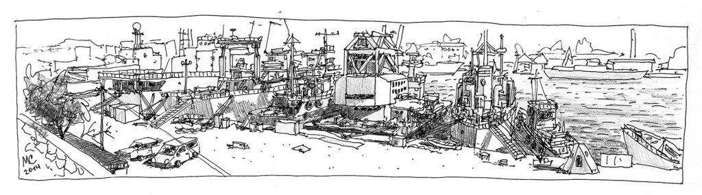 Порт в Южной бухте