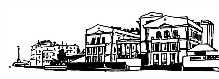 Севастополь, скетч, рисунок, приморский, рисунок маркером, Памятник затопленным кораблям, ПЗК
