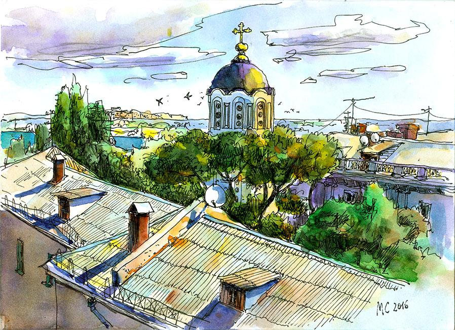 Владимирскмй собор. Усыпальница адмиралов