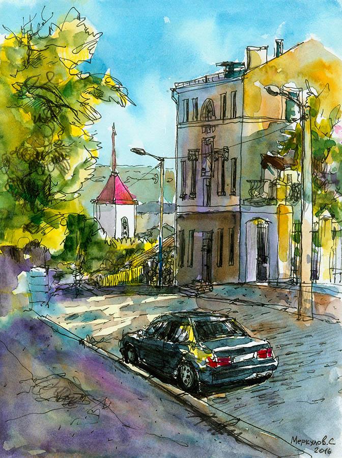 Улица Суворова.