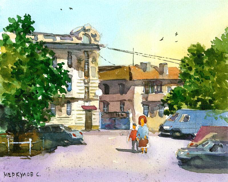 Улица в Евпатории