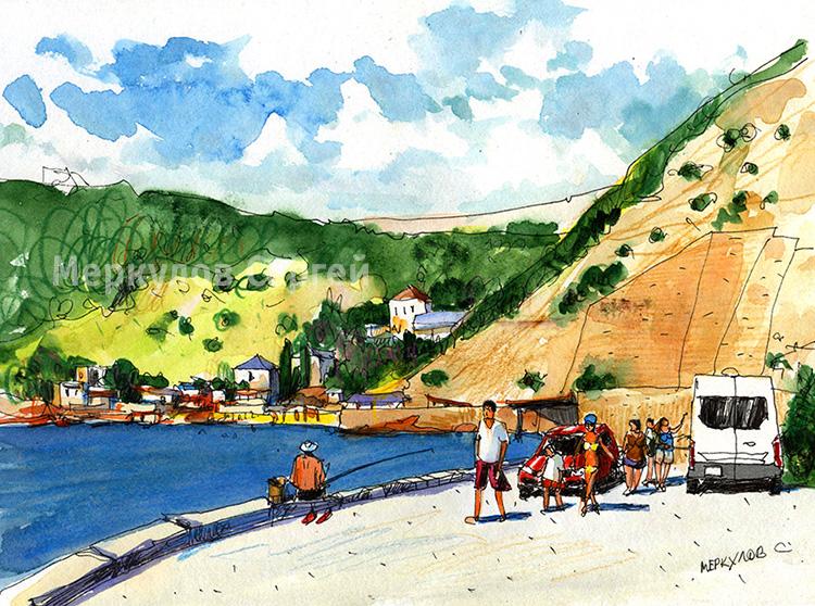 Балаклава. Путь на пляж