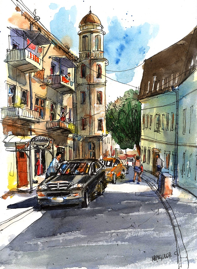 Улица в Ялте