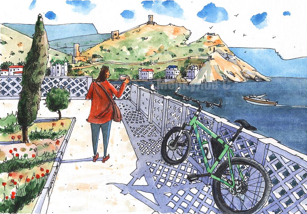 Балаклавский велосипед
