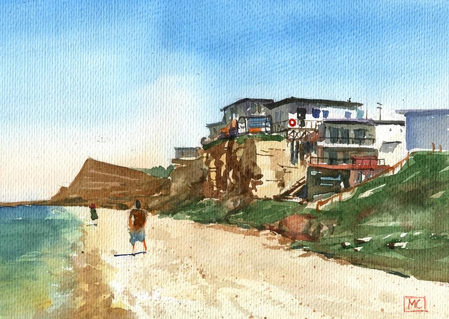 Любимовка. Пляж