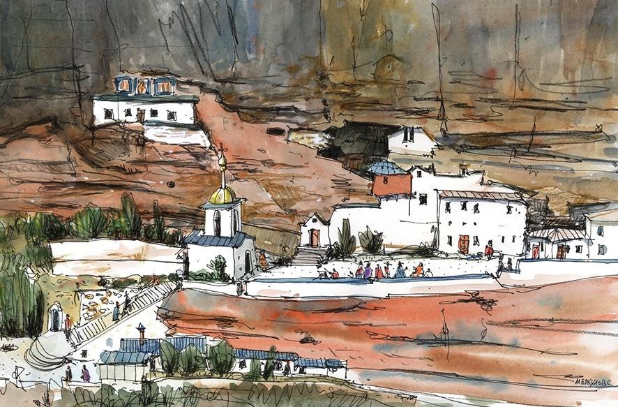 Свято-Успенский монастырь. Бахчисарай